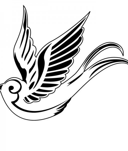 Swooping Swallow Tattoo 8