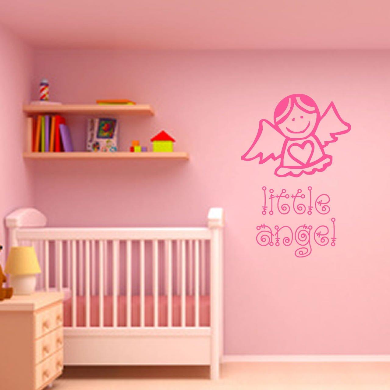 Little angel childrens wall sticker world of wall stickers little angel childrens wall sticker decal a amipublicfo Gallery