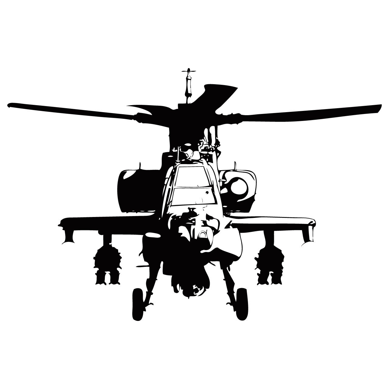 military helicopter wall sticker world of wall stickers