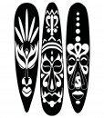 African Masks Wall Sticker – Decal – Plain