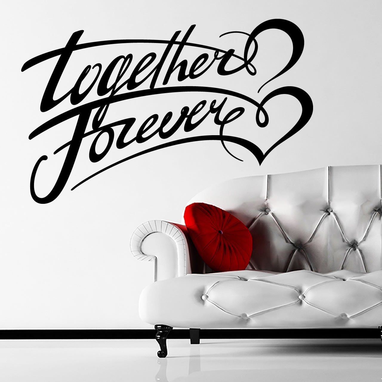 together forever quote wall sticker world of wall stickers together forever quote wall sticker decal a