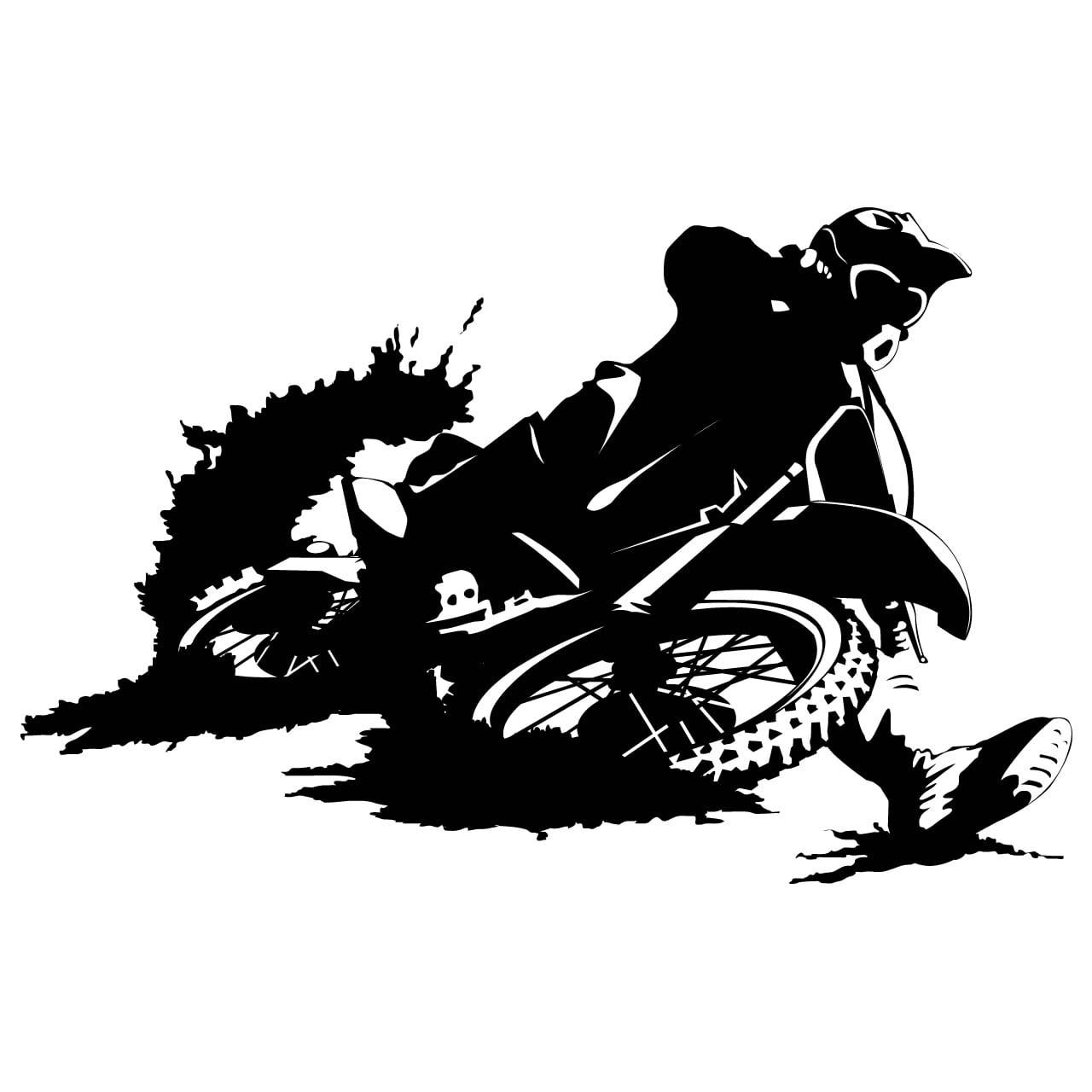 motorbike dirtbike sports wall sticker world of wall wall decal dirt bike personalized boys name vinyl sticker word