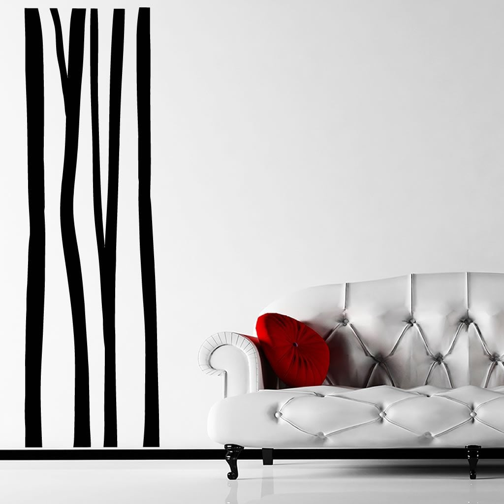 plain tree trunks wall sticker world of wall stickers the product is already in the wishlist browse wishlist plain tree trunks wall sticker