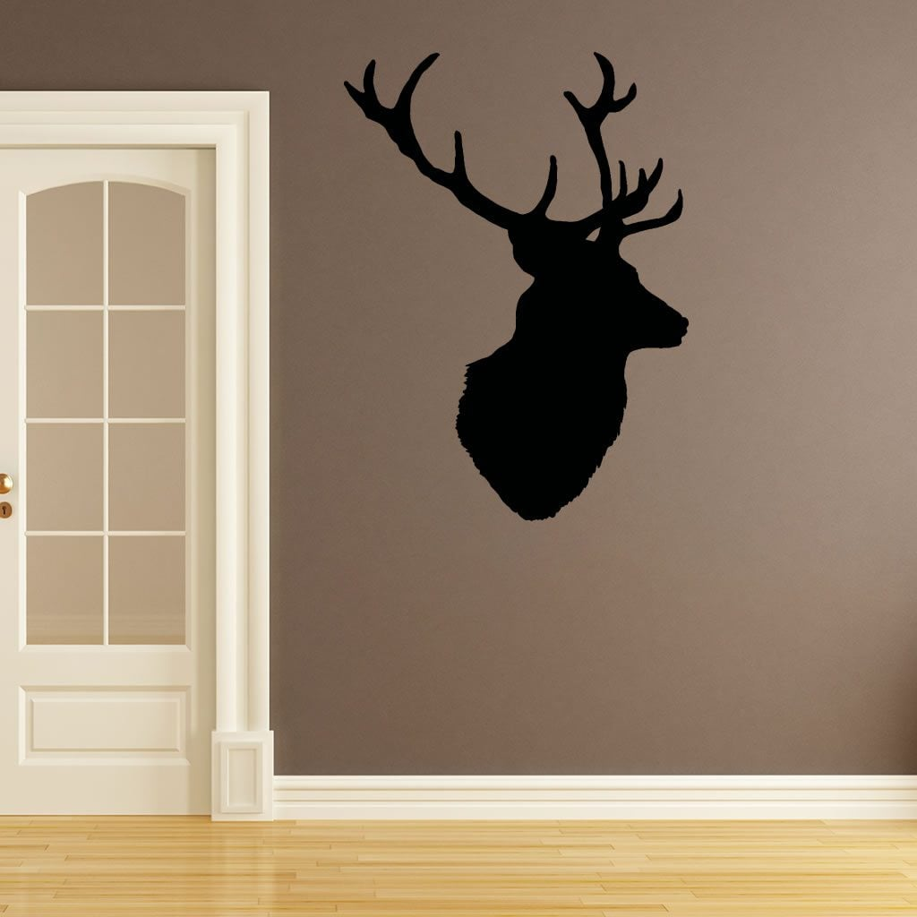 Stags Head V Deer Vintage Wall Sticker World Of Wall Stickers - Vintage wall decals