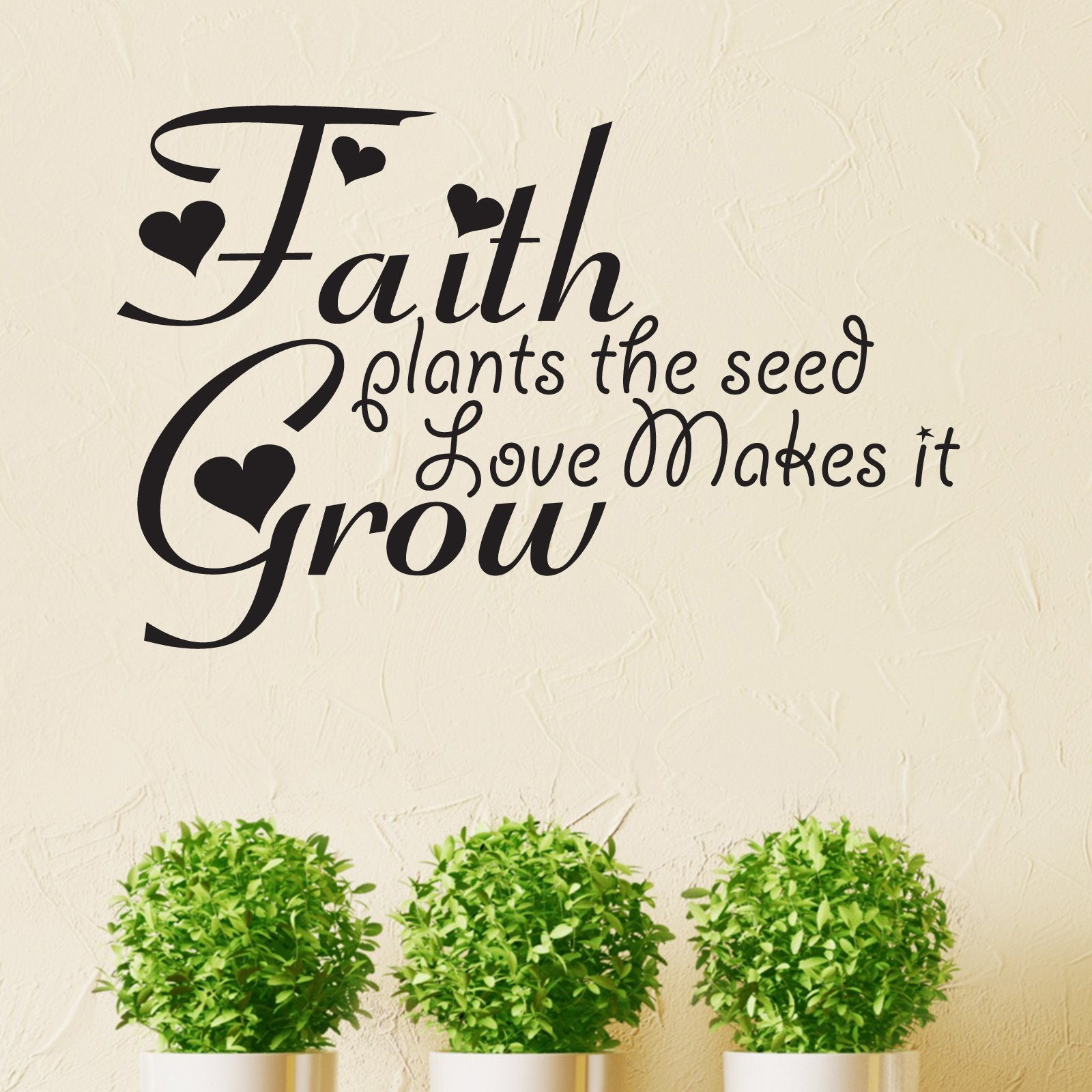 Quotes About Planting Seeds For Life Faith Plants The Seed Quote Wall Sticker  World Of Wall Stickers