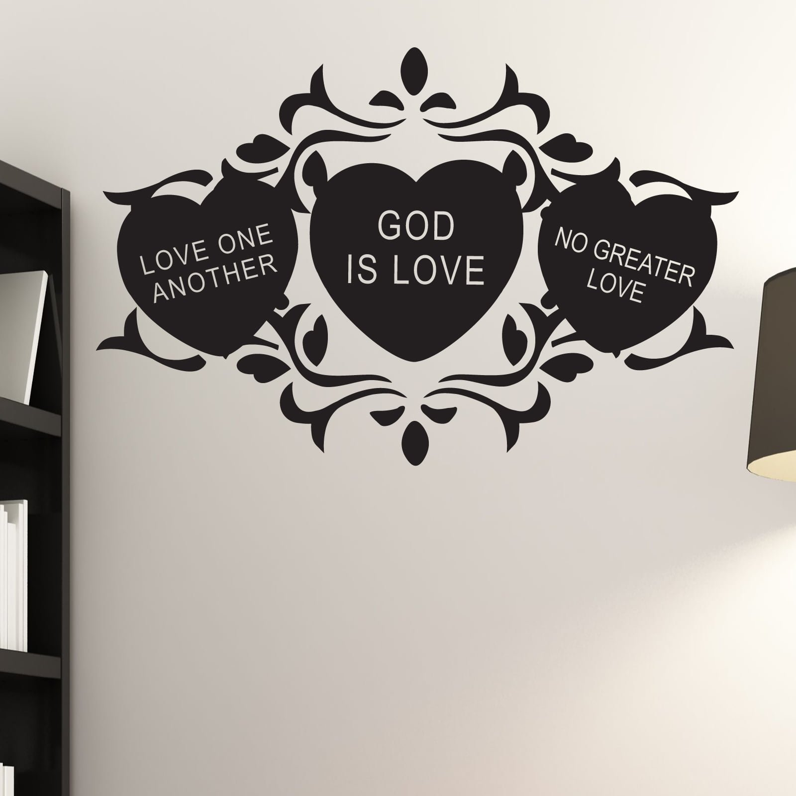 Religious Quotes About Love No Greater Love Religious Quote Wall Sticker  World Of Wall Stickers