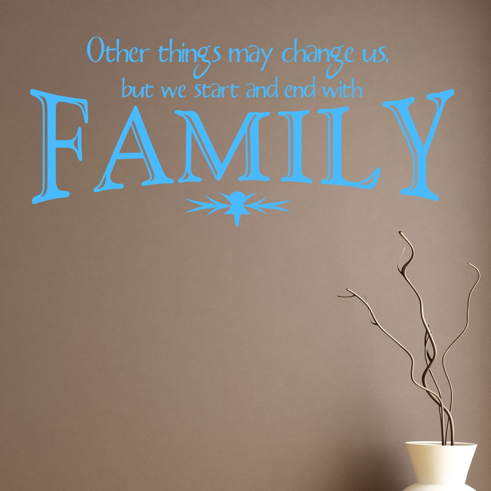 Other things may change us family quote wall sticker world of other things may change us family quote wall sticker world of wall stickers amipublicfo Gallery