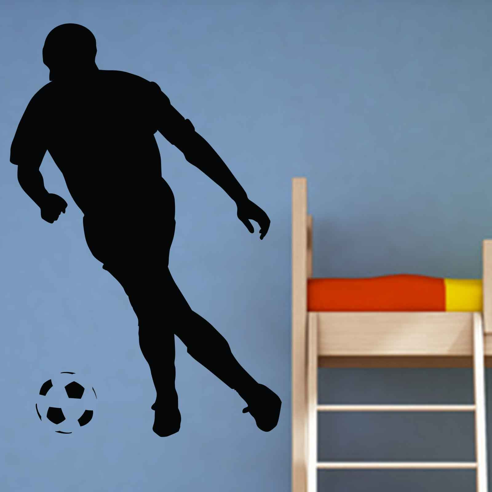 football player sports wall sticker world of wall stickers football player 2 wall sticker wall art com