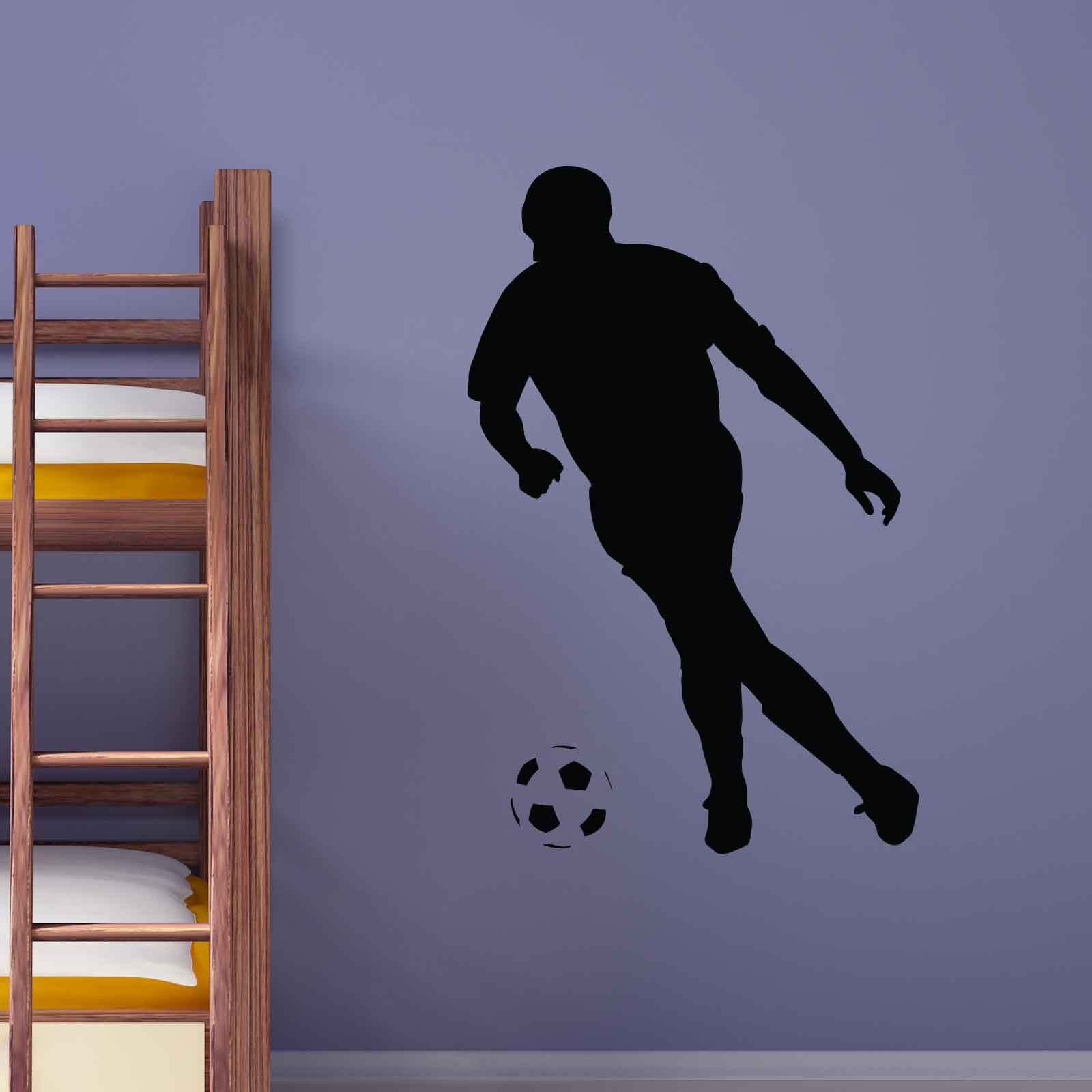football player sports wall sticker world of wall stickers running american football player wall sticker sport wall art