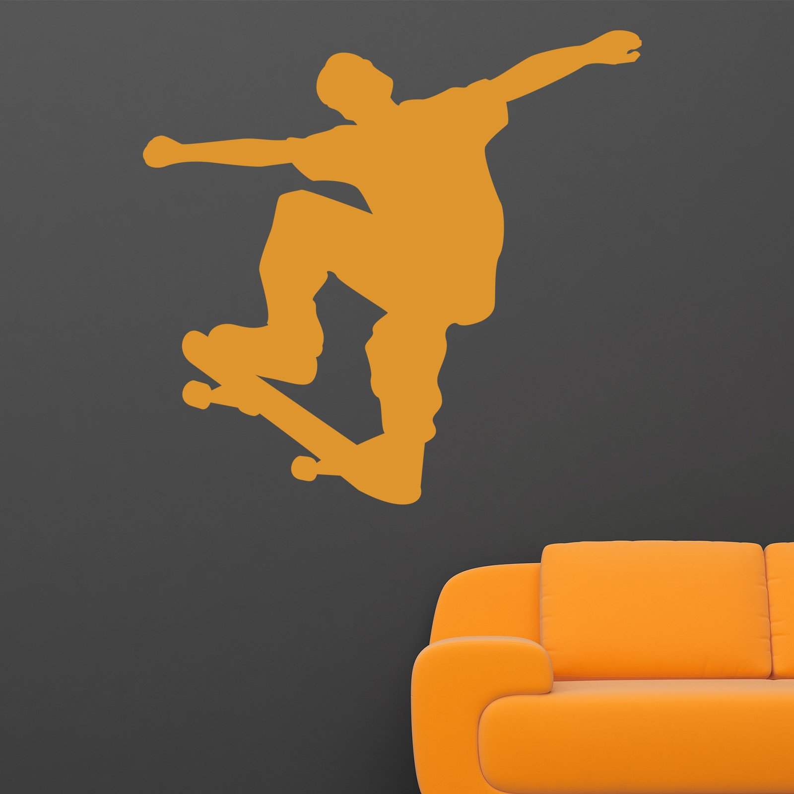 jumping skate boarder sports wall sticker world of wall stickers