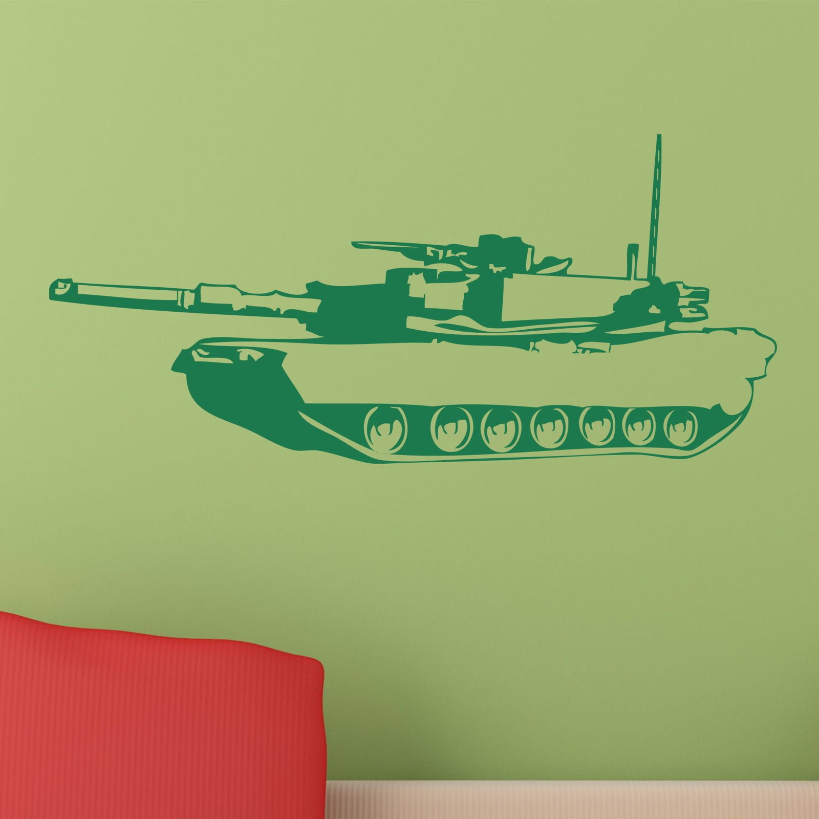 tank military army wall sticker world of wall stickers