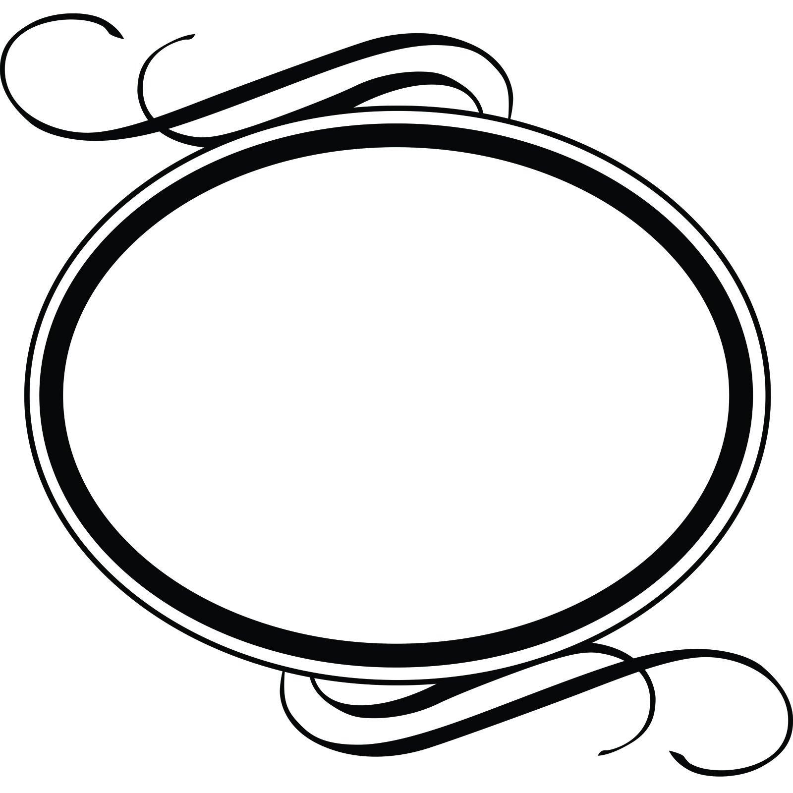 Snow White Wall Stickers Art Nouveau Oval Frame Www Pixshark Com Images