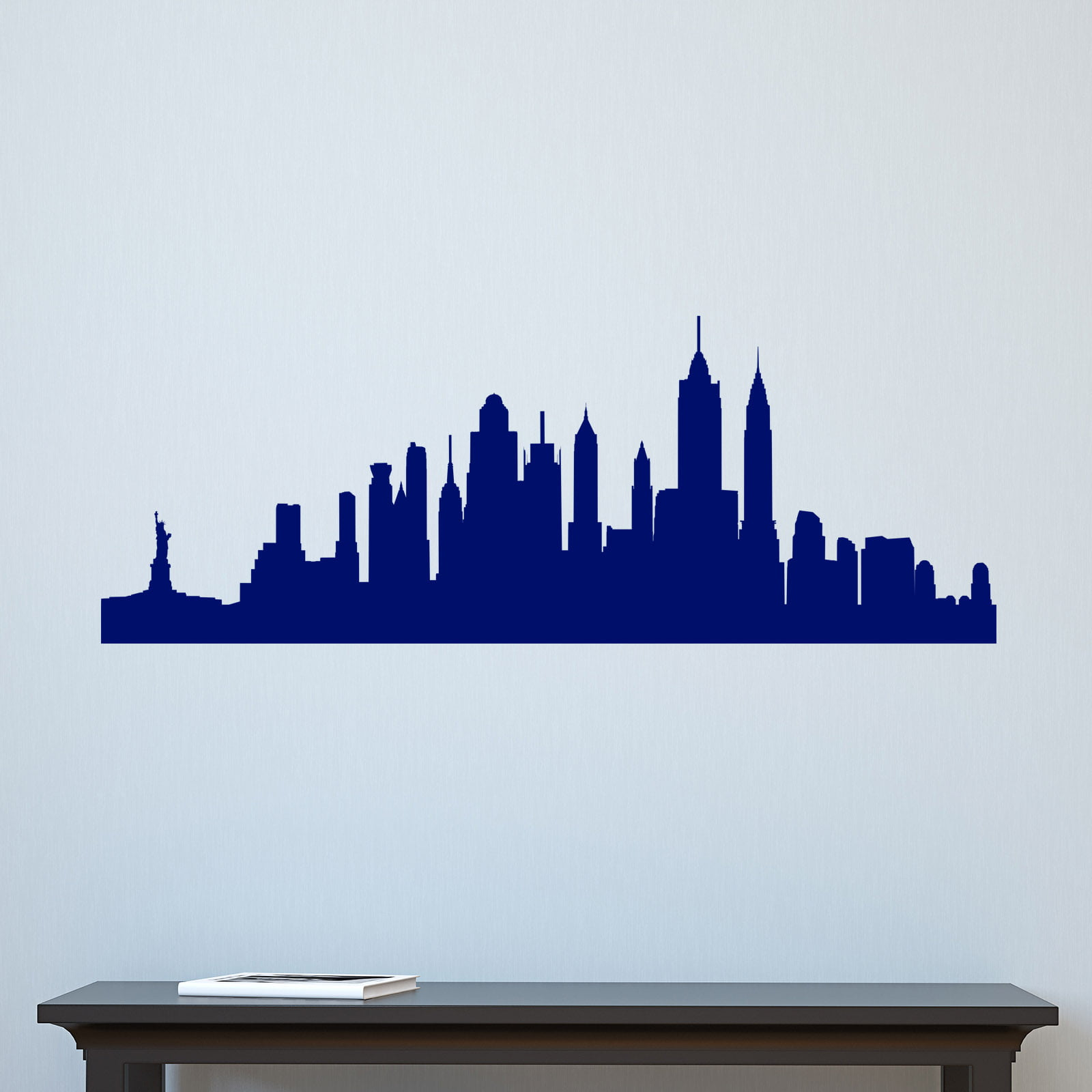new york cityscape skyline wall sticker world of wall stickers