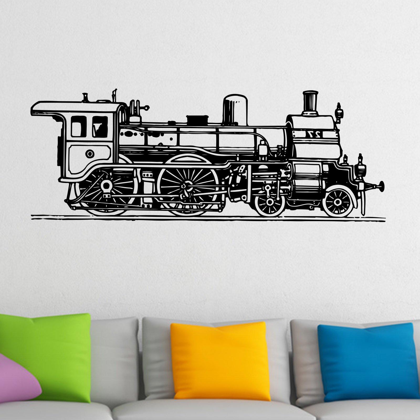 Old Fashioned Train Wall Sticker U2013 Decal U2013 A