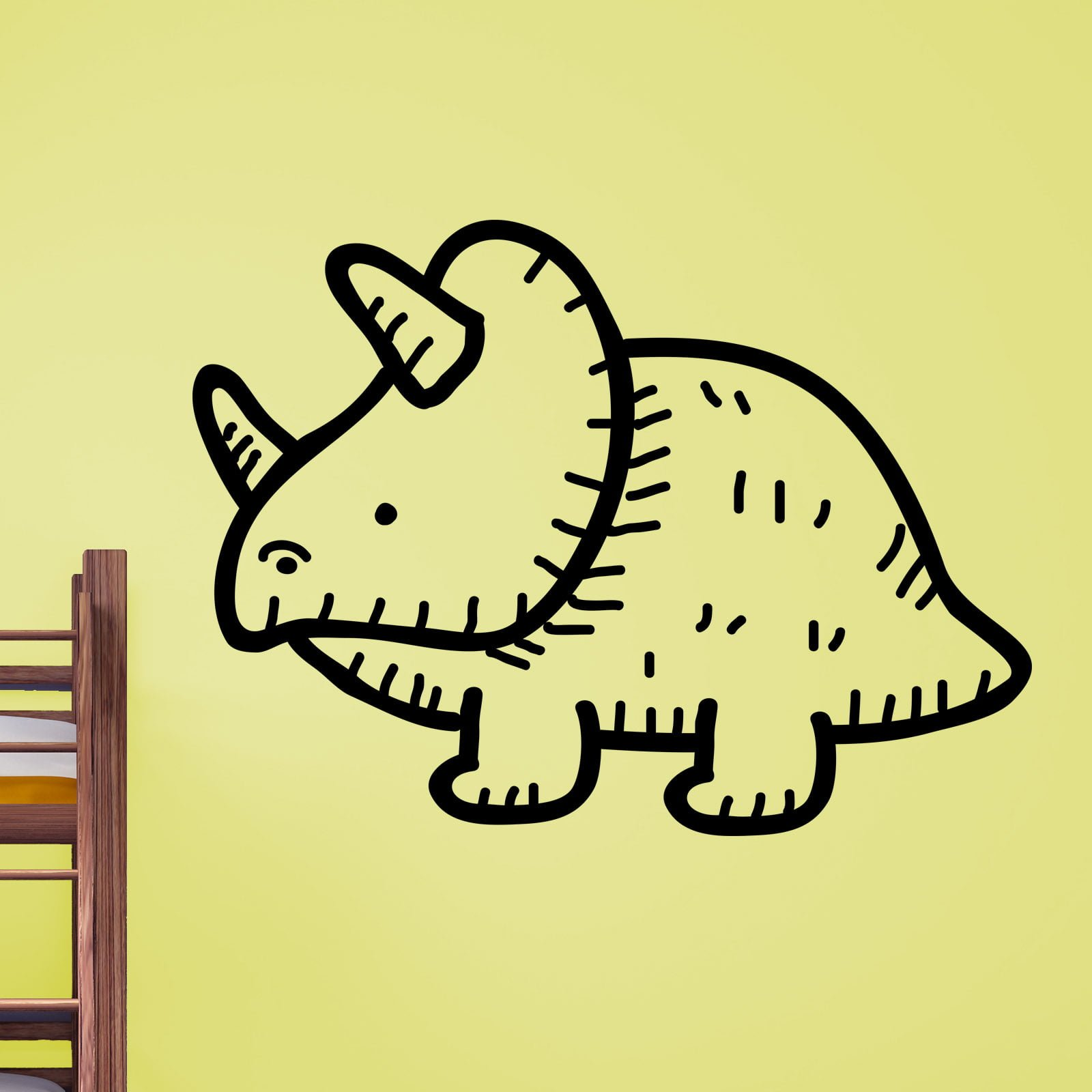 Sabre Tooth Tiger Wall Sticker - World of Wall Stickers