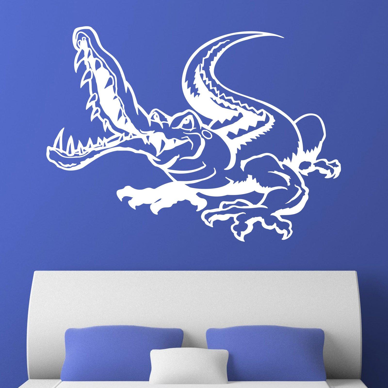 Alligator Crocodile Kids Wall Sticker - World of Wall Stickers