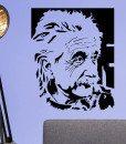 Albert Einstein Portrain Wall Sticker – Decal – b