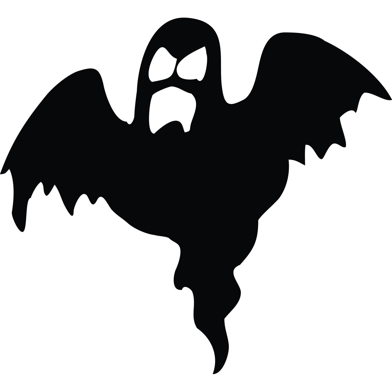 Spooky Ghost Halloween Wall Sticker