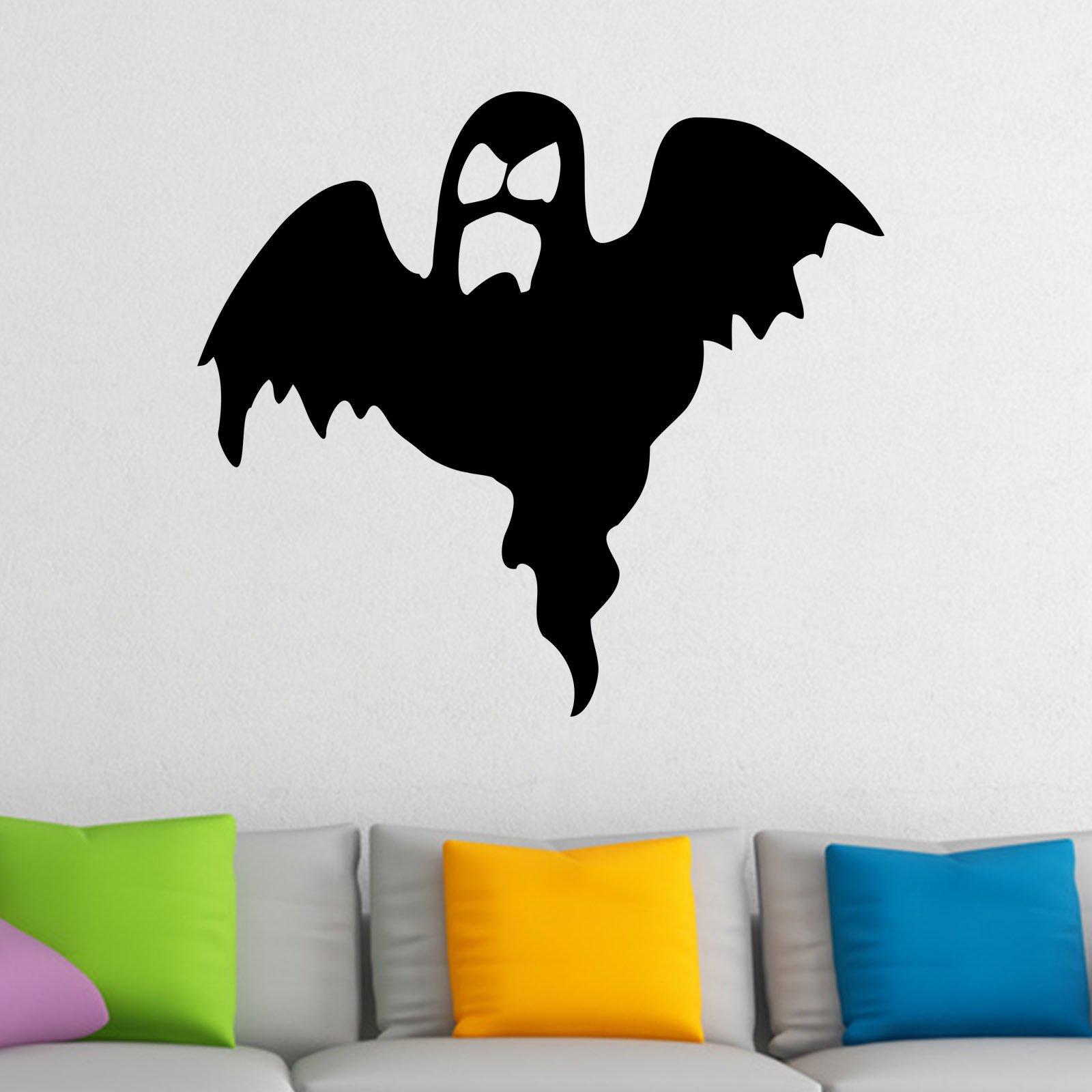 spooky ghost halloween wall sticker world of wall stickers