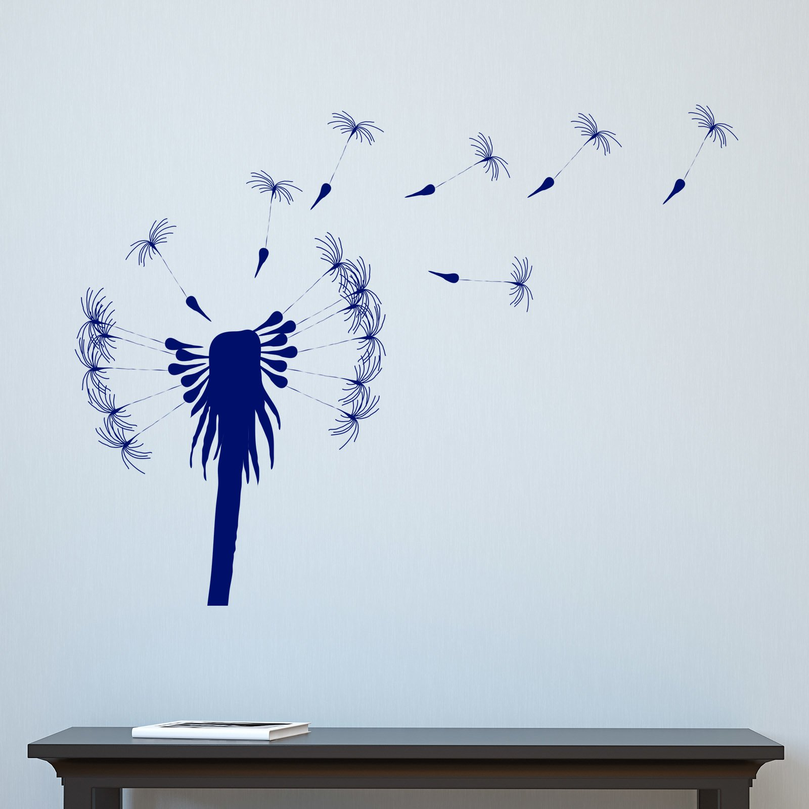 Dandelion seeds floating in wind wall sticker world of wall stickers amipublicfo Gallery
