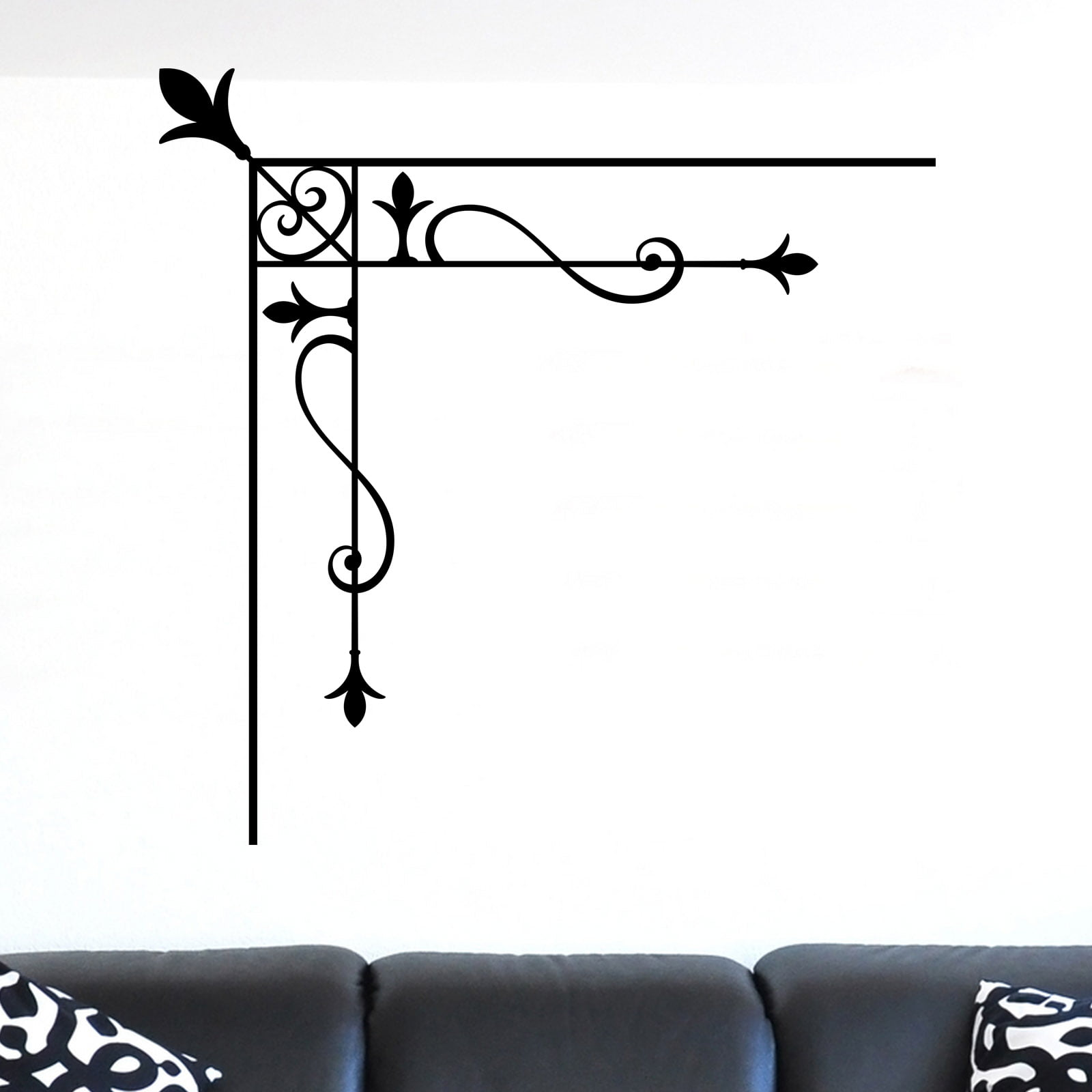 Room Corner Design Wall Sticker World of Wall Stickers