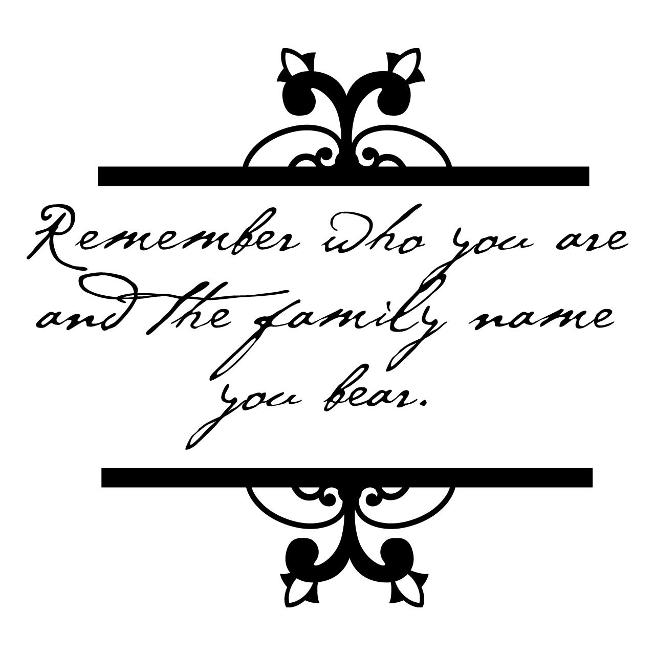 Remember Who You Are Quote Wall Sticker World Of Wall Stickers