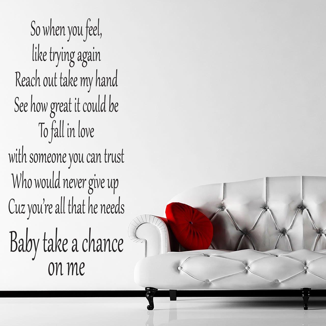 Take A Chance On Me Гјbersetzung