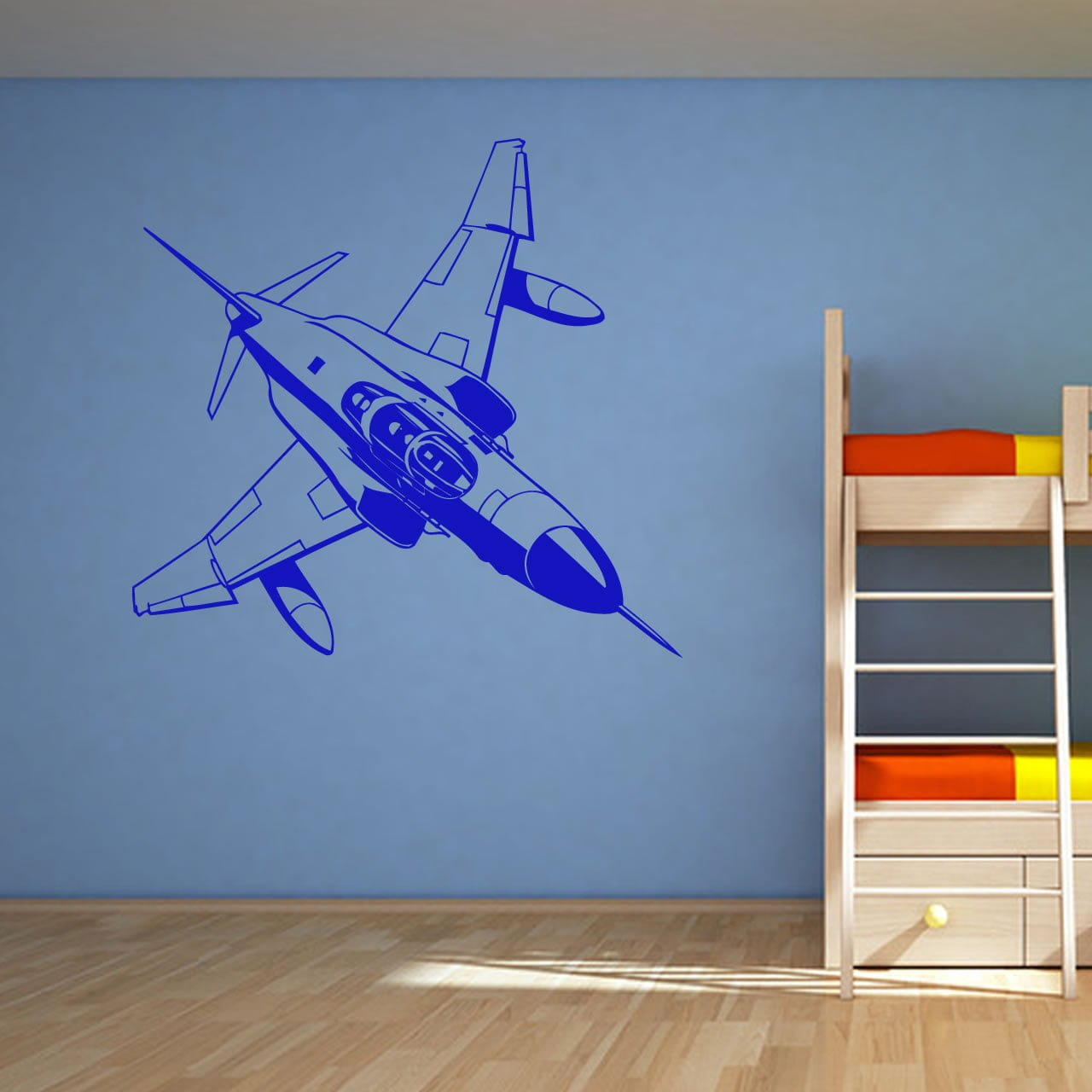 Fighter Jet Military Wall Sticker World Of Wall Stickers
