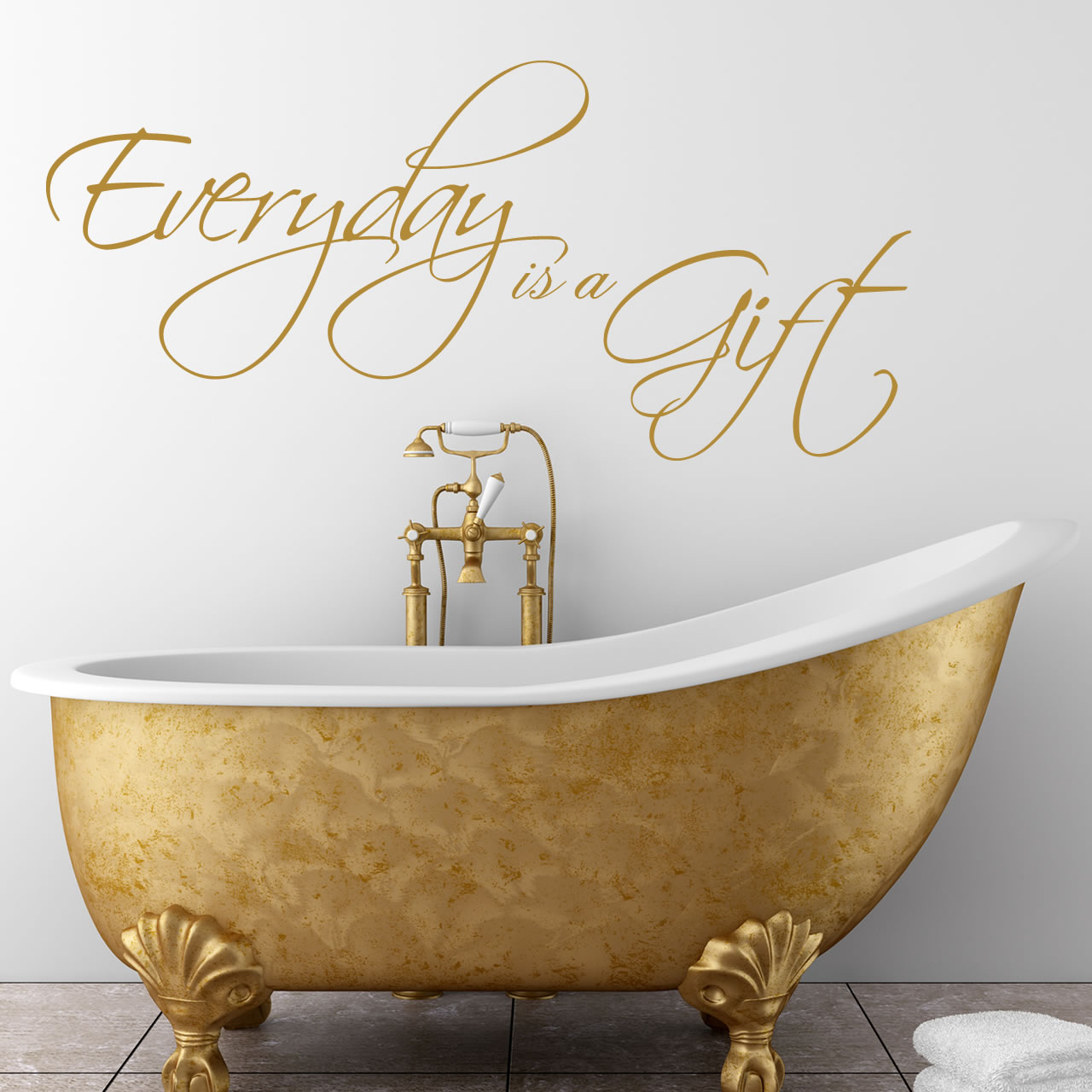 Every Day Is A Gift Quote Wall Sticker World Of Wall Stickers