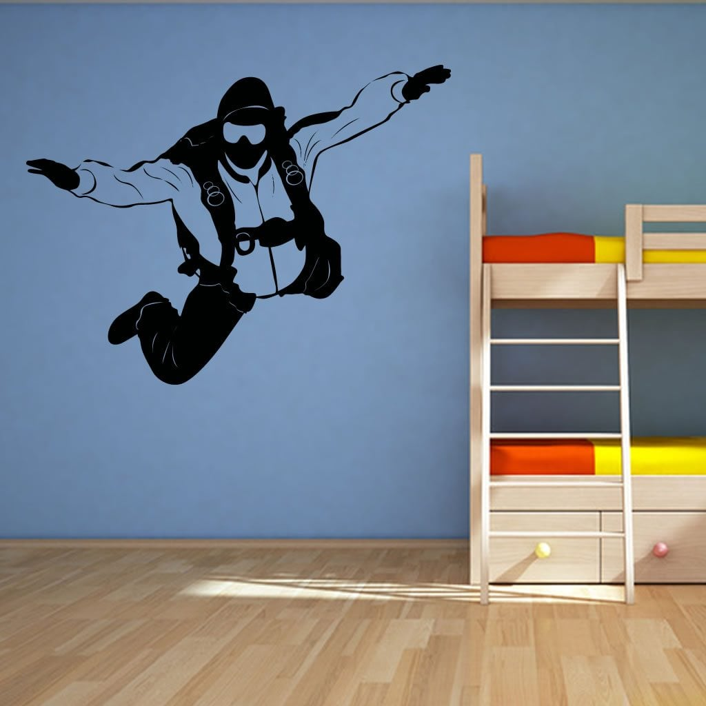 Extreme Sports: Sky Diver Extreme Sports Wall Sticker