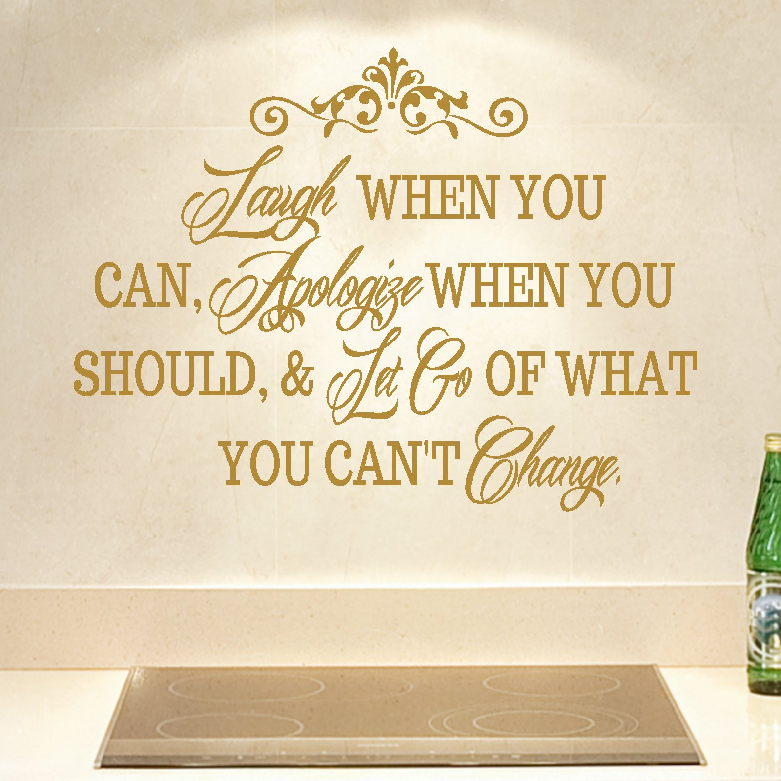 Laugh When You Can Quote Wall Sticker - World of Wall Stickers