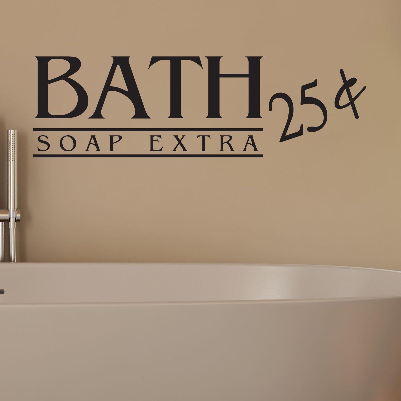 Bath Soap Extra Bathroom Wall Sticker World Of Wall Stickers