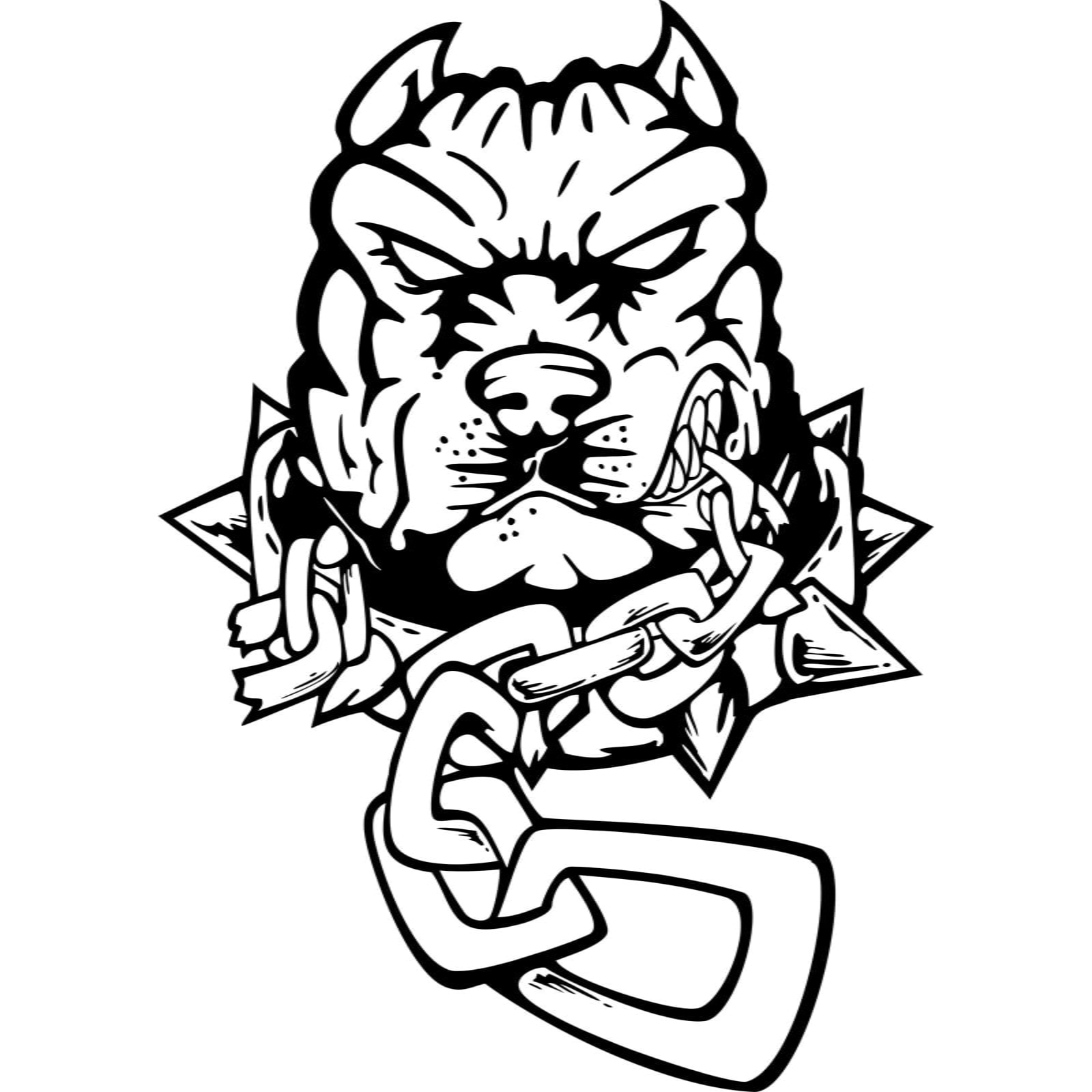 Angry Bulldog Drawing | www.imgkid.com - The Image Kid Has It! Angry Dog Drawing