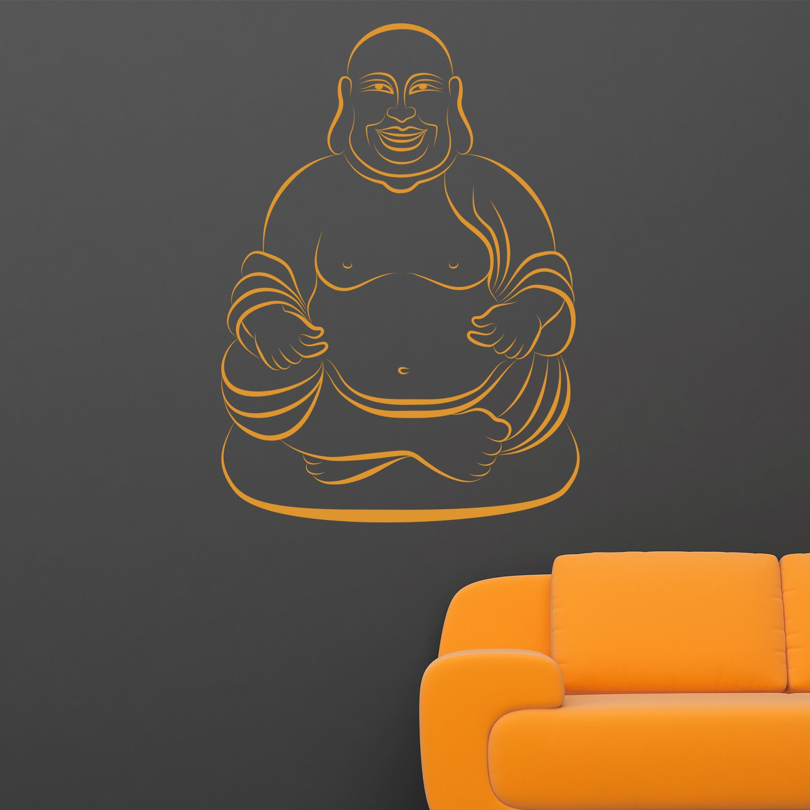 sitting buddha 2 wall sticker world of wall stickers buddha wall sticker wall art com