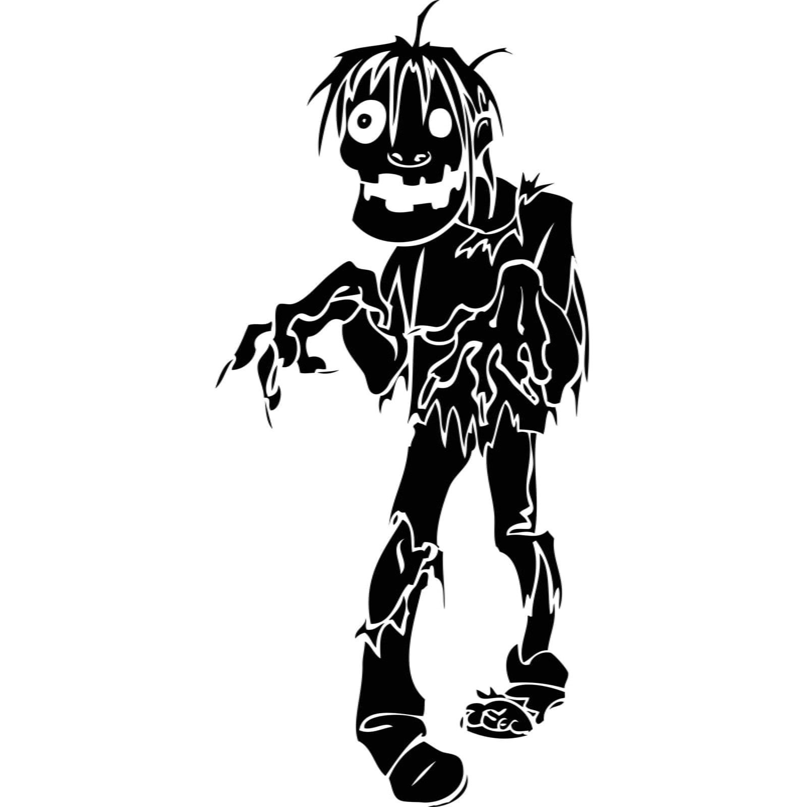 Zombie Halloween Wall Sticker / Decal - World of Wall Stickers