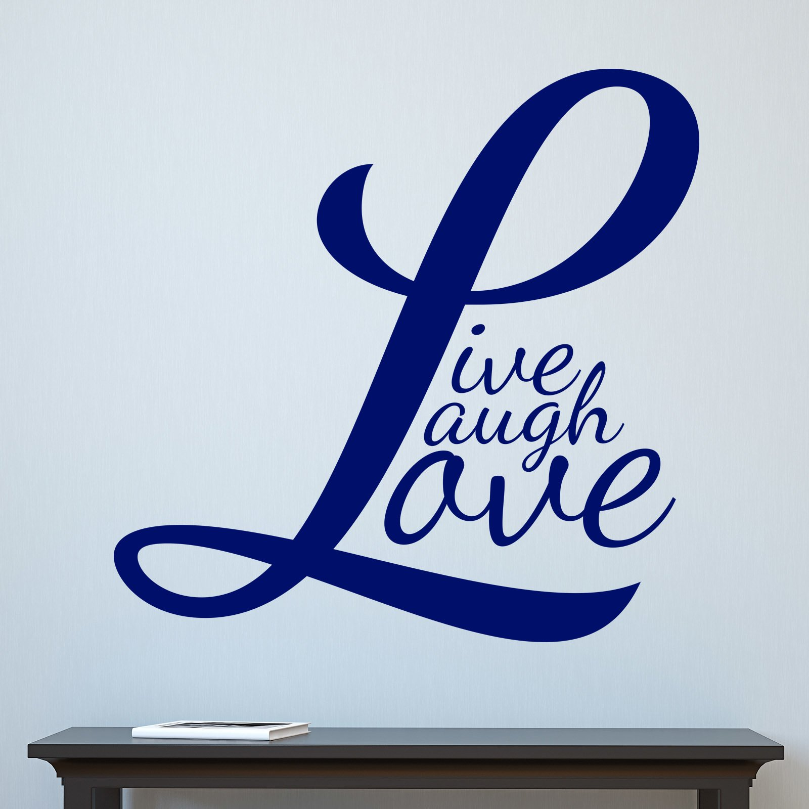 Live Laugh Love V4 Quote Wall Sticker World Of Wall Stickers