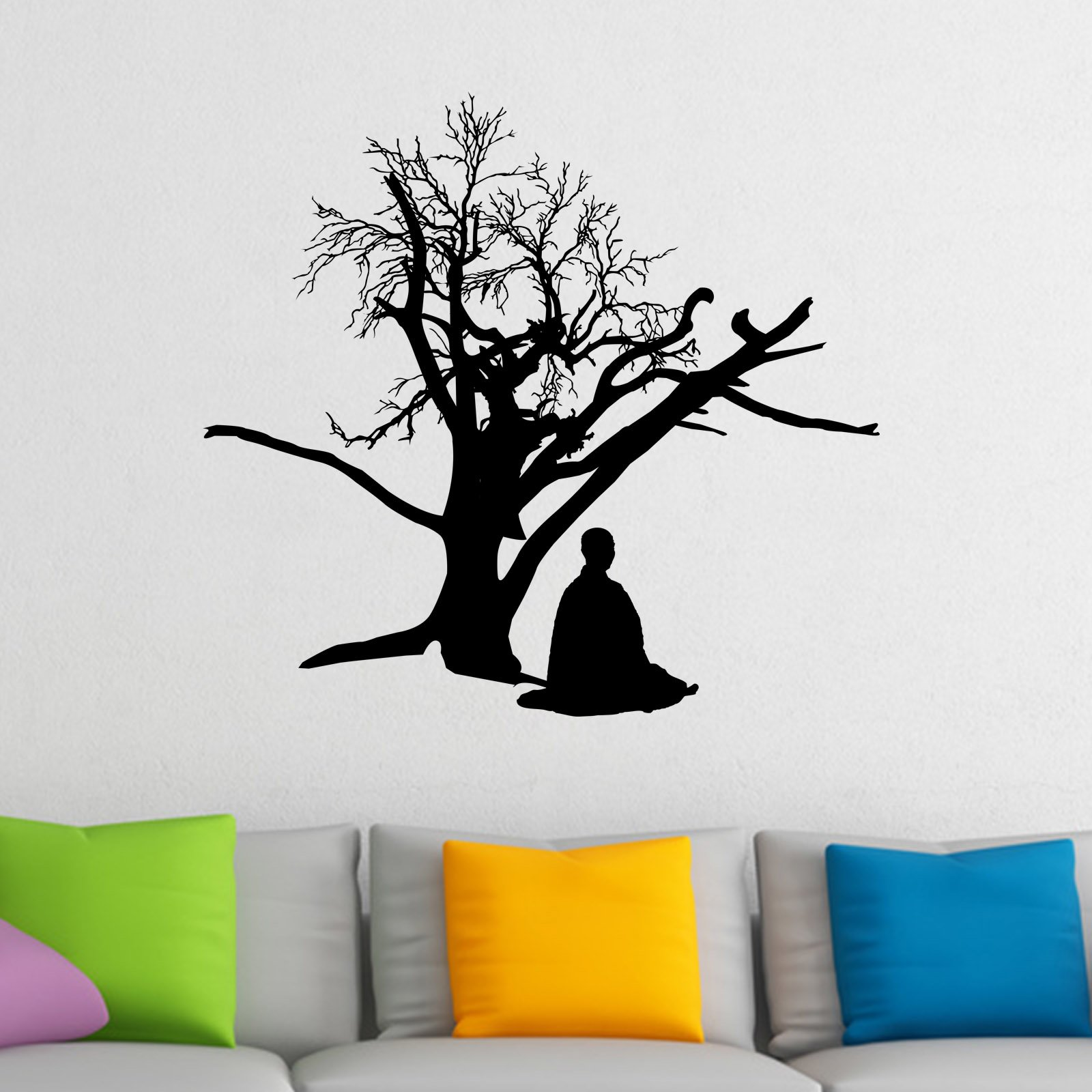 African figure blowing horn wall sticker world of wall stickers related products amipublicfo Gallery