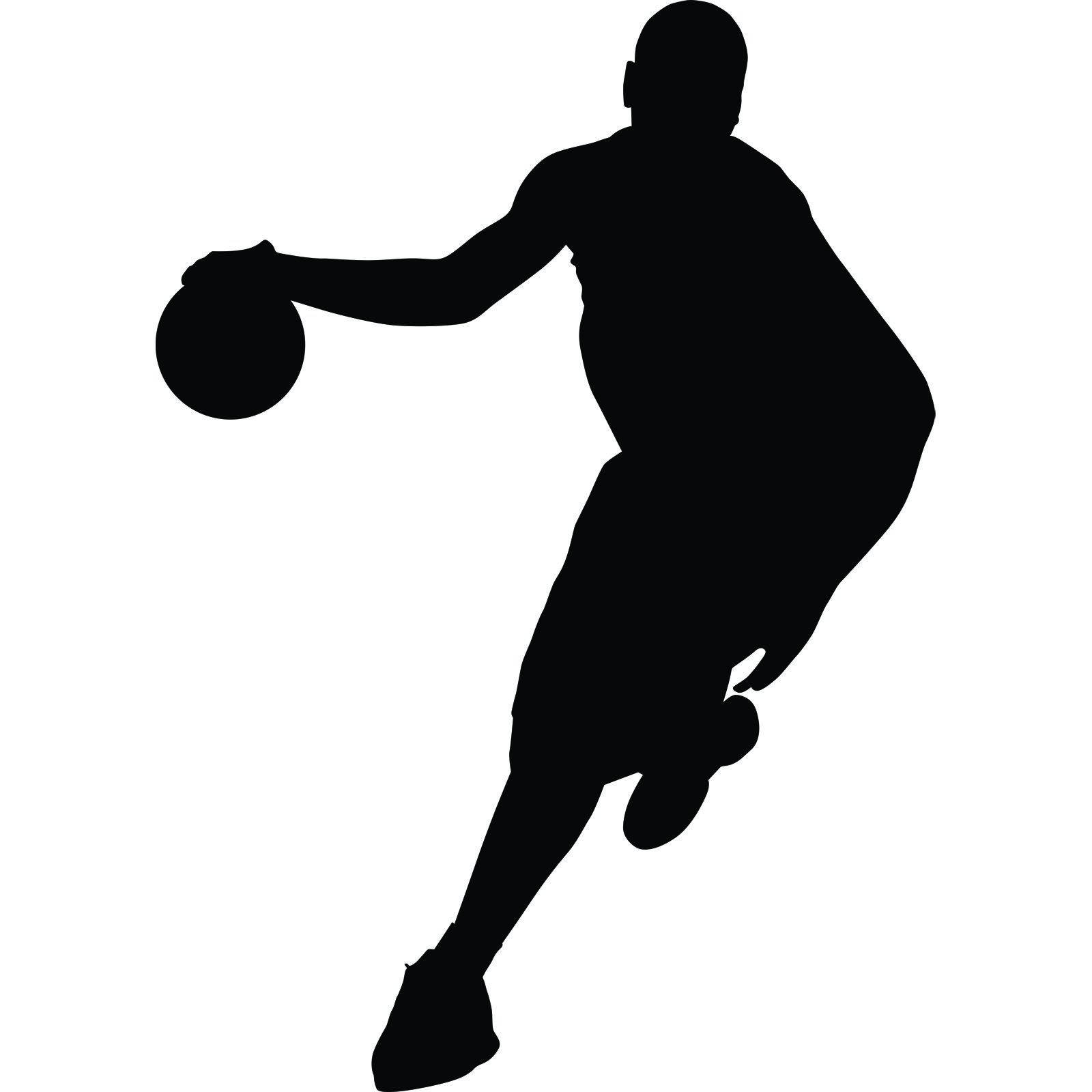 Love Quotes Wall Stickers Running Basketball Player Sports Wall Sticker World Of