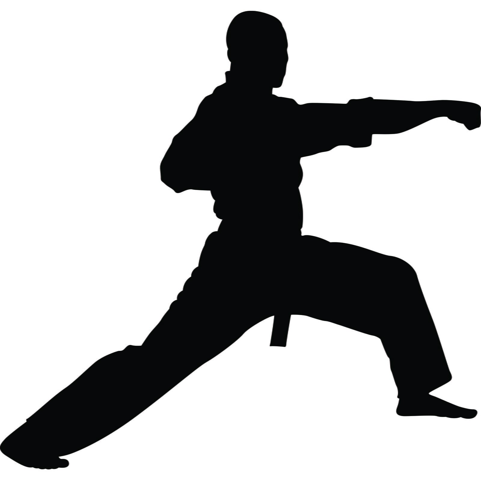 Wall Stickers Frames Martial Arts Punch Karate Kung Fu Wall Sticker World Of