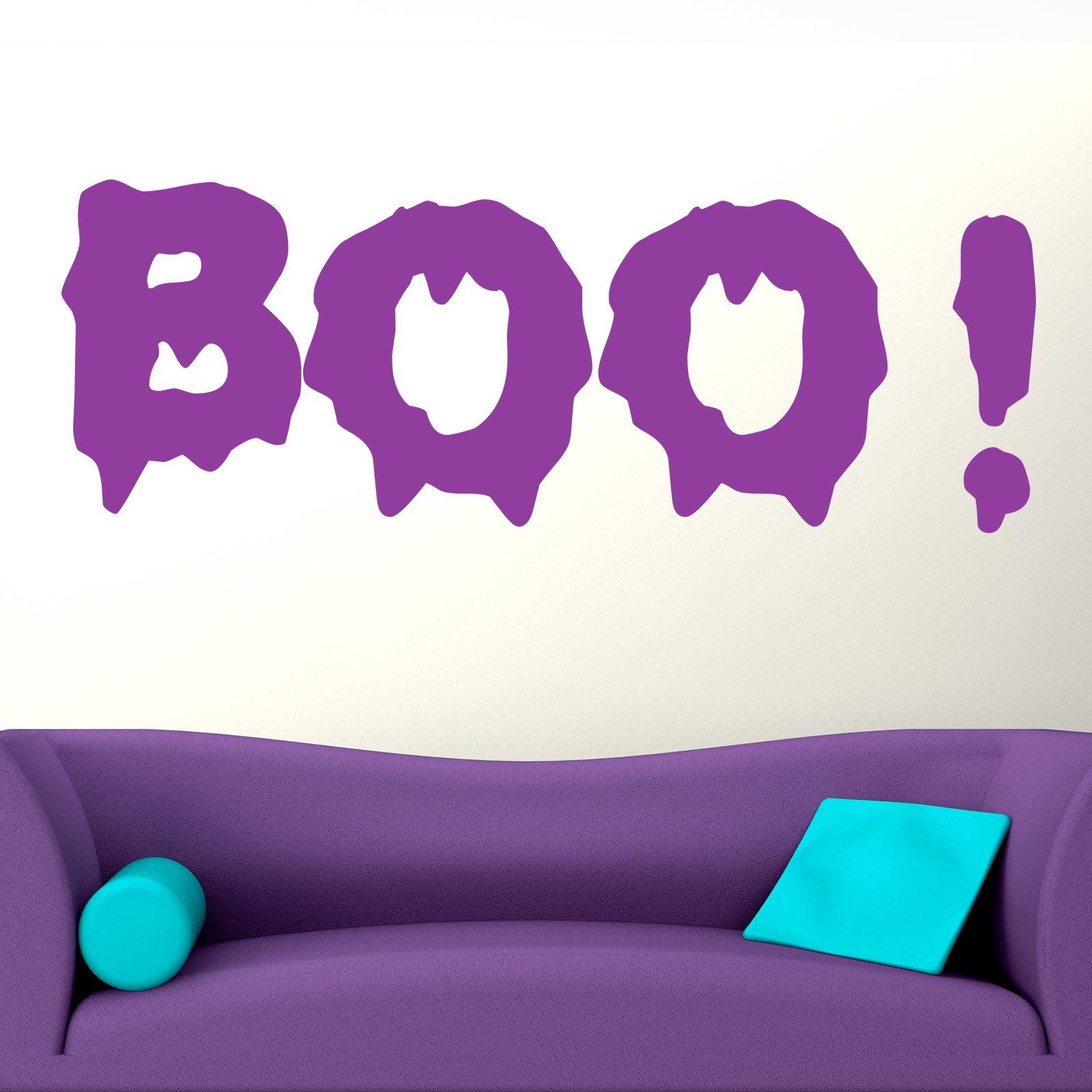 Boo Halloween Wall Sticker